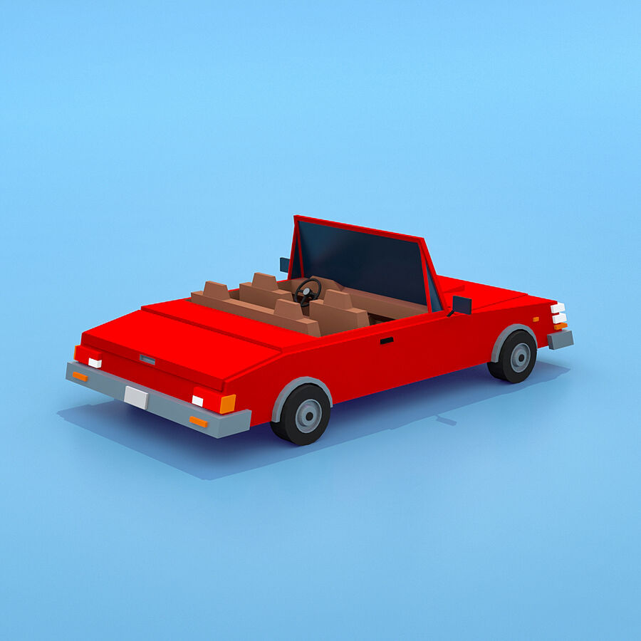 Mega Pack collezione di veicoli royalty-free 3d model - Preview no. 96