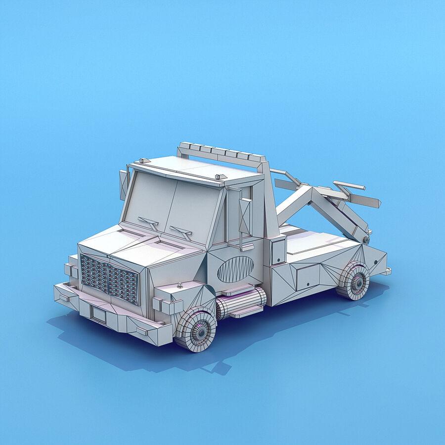 Mega Pack collezione di veicoli royalty-free 3d model - Preview no. 43