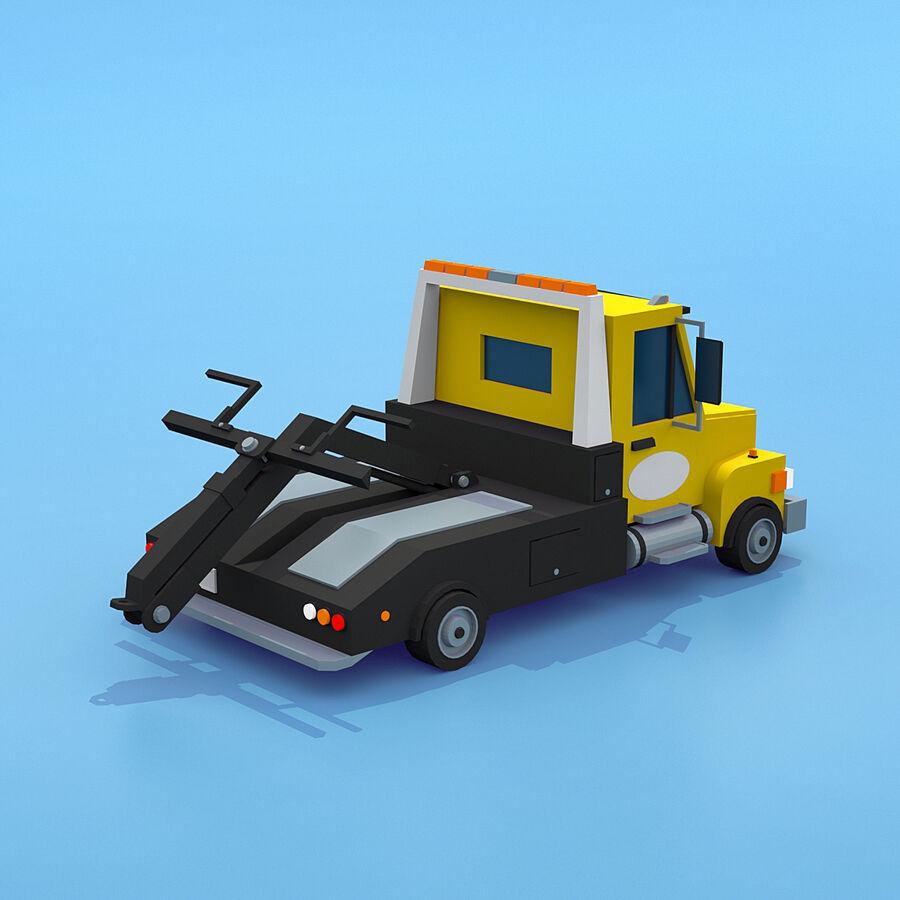 Mega Pack collezione di veicoli royalty-free 3d model - Preview no. 42