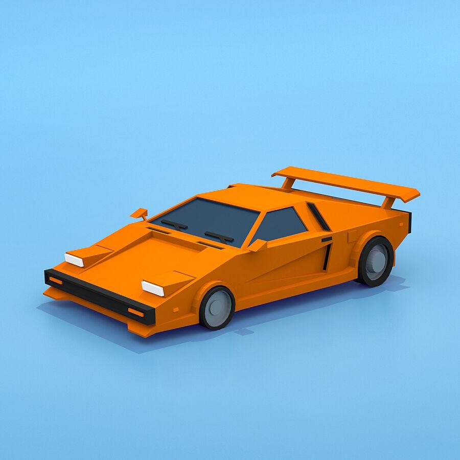 Mega Pack collezione di veicoli royalty-free 3d model - Preview no. 74