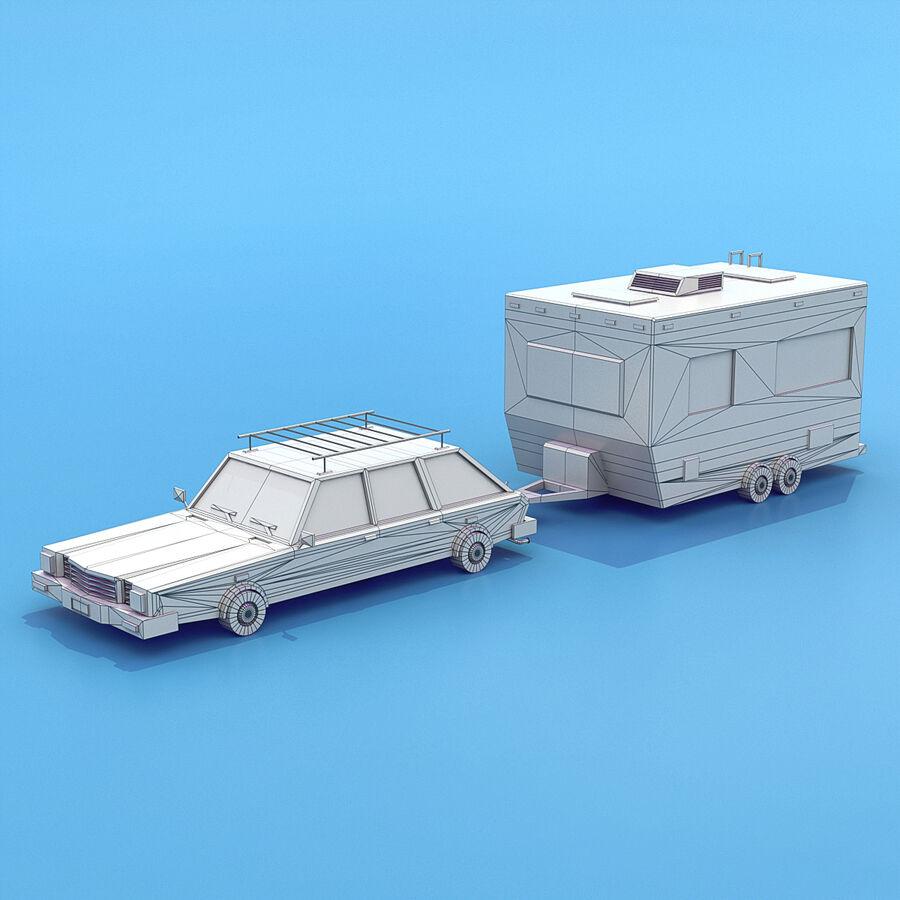 Mega Pack collezione di veicoli royalty-free 3d model - Preview no. 28