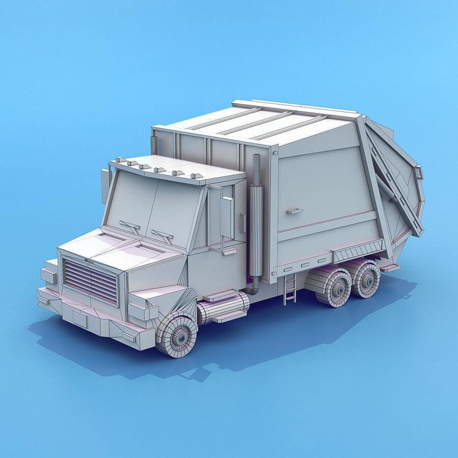 Mega Pack collezione di veicoli royalty-free 3d model - Preview no. 73