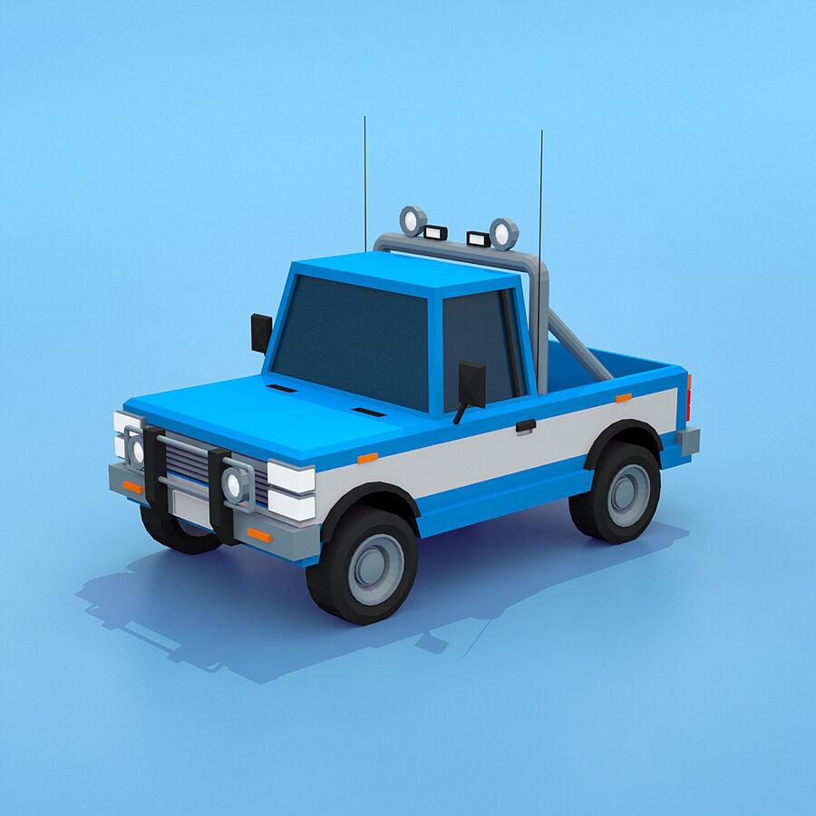 Mega Pack collezione di veicoli royalty-free 3d model - Preview no. 59