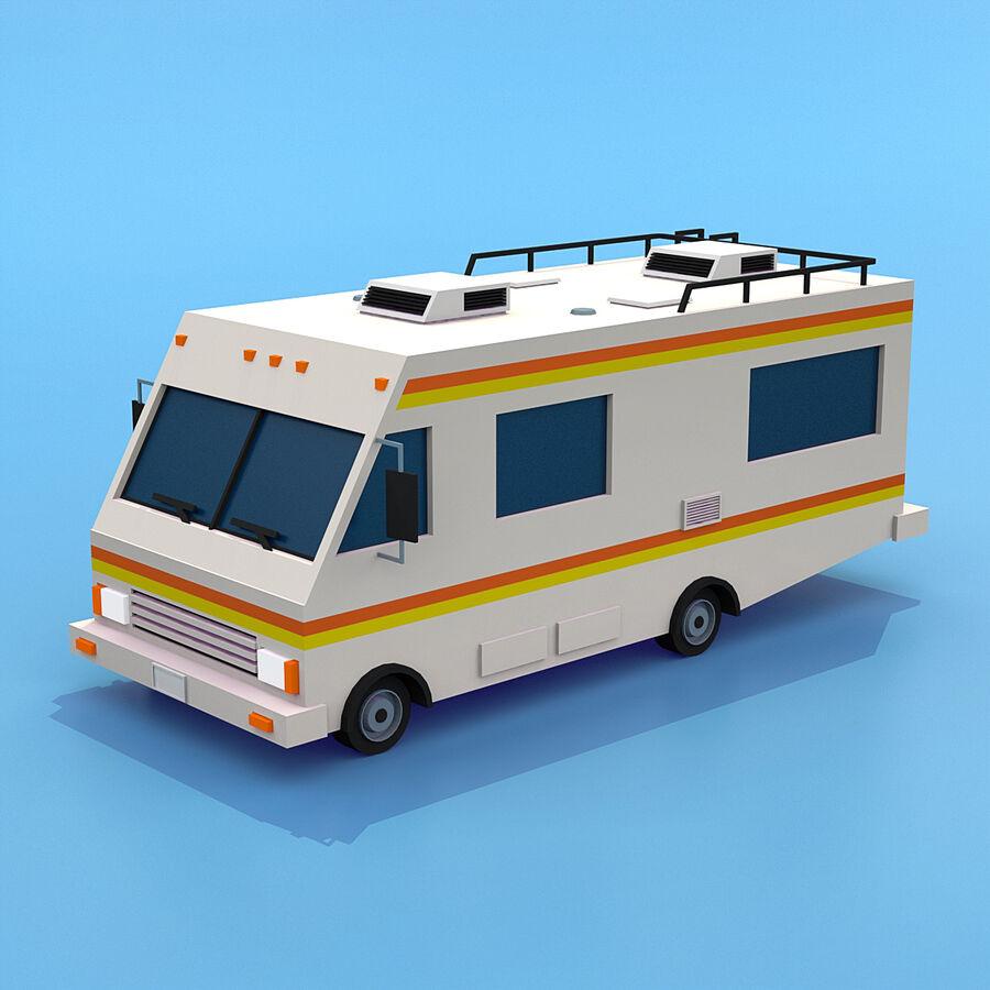 Mega Pack collezione di veicoli royalty-free 3d model - Preview no. 47