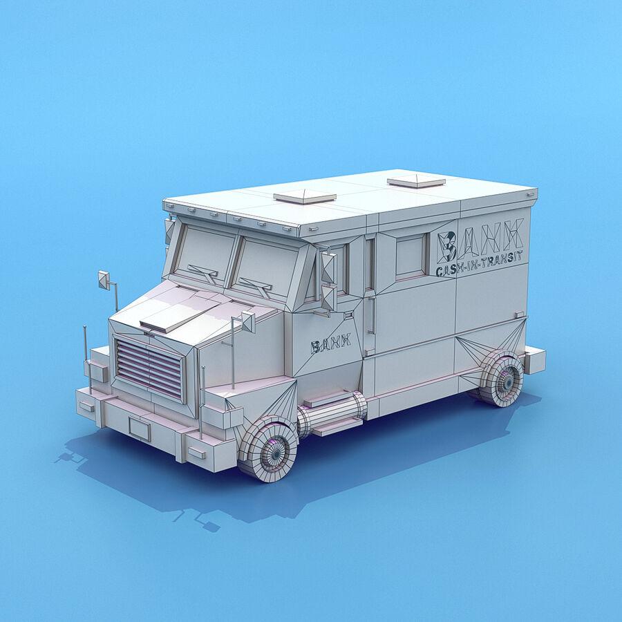 Mega Pack collezione di veicoli royalty-free 3d model - Preview no. 4