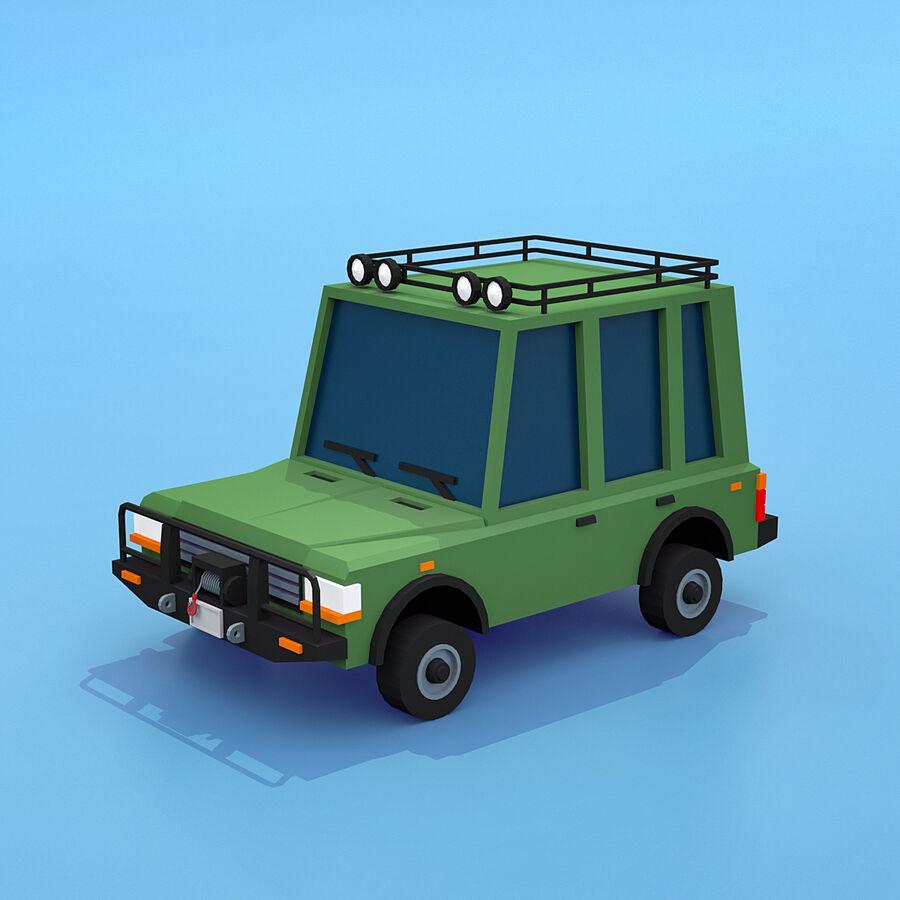 Mega Pack collezione di veicoli royalty-free 3d model - Preview no. 62