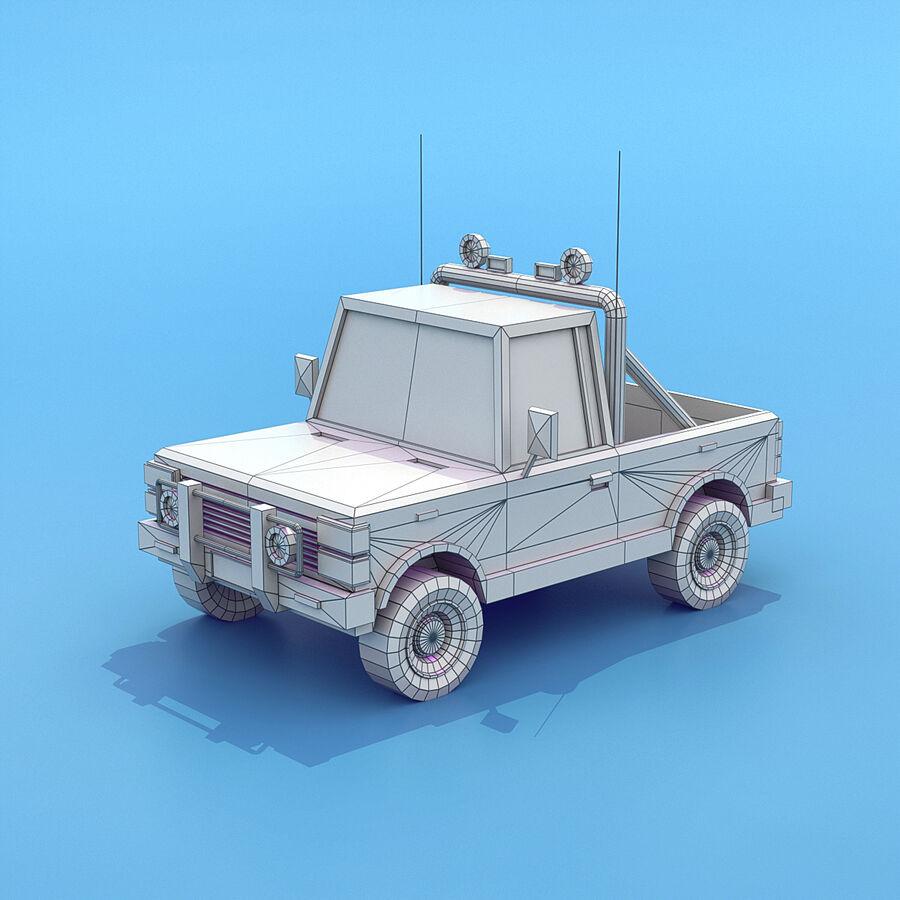 Mega Pack collezione di veicoli royalty-free 3d model - Preview no. 61