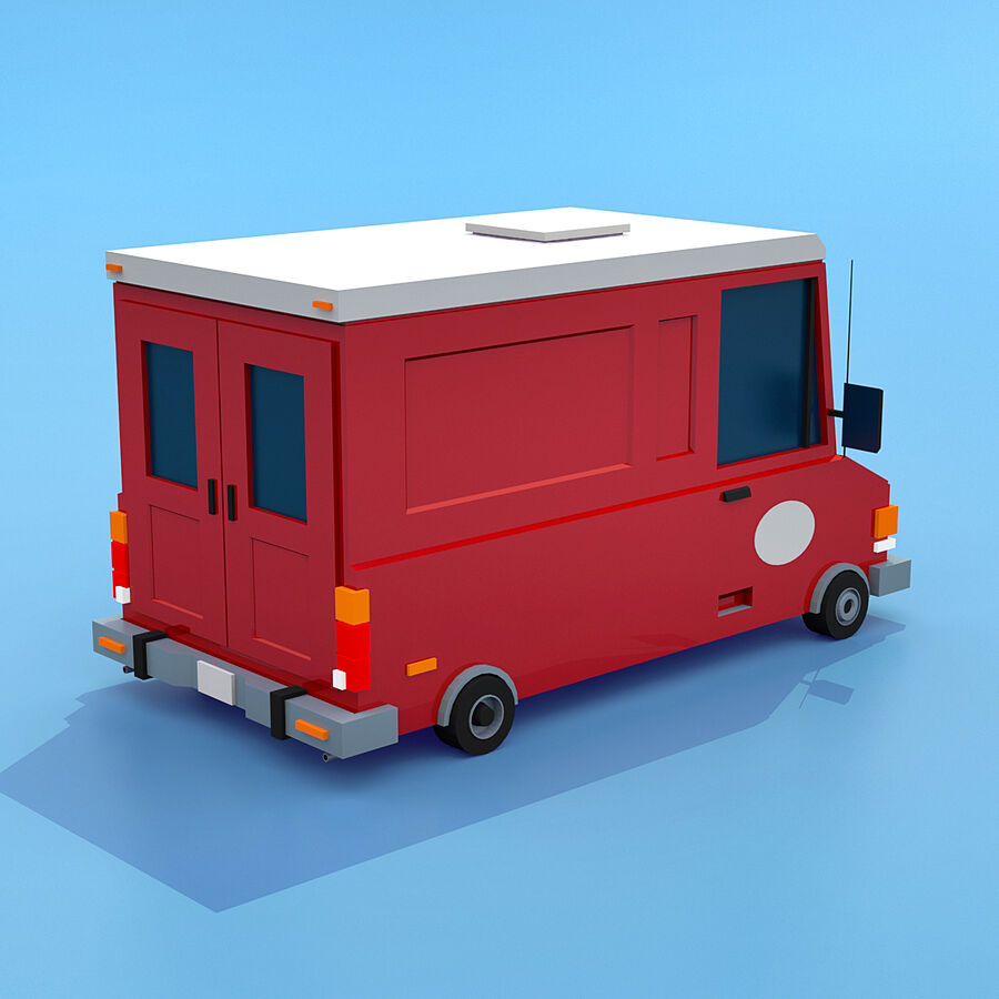 Mega Pack collezione di veicoli royalty-free 3d model - Preview no. 93