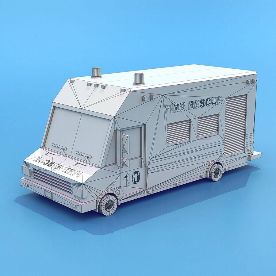Mega Pack collezione di veicoli royalty-free 3d model - Preview no. 13