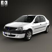 Dacia Logan 2004 3d model
