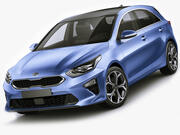 Kia Ceed 2019 3d model