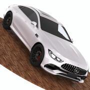 Mercedes Amg Gt 2019 3d model