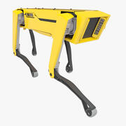 机器人SpotMini黄色 3d model