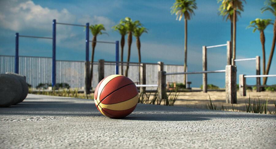 Siłownia do ćwiczeń na plaży royalty-free 3d model - Preview no. 9