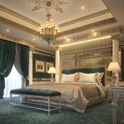 Elegant sovrum 3d model