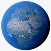 Earth Photorealistic 16K 3d model