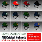 Cricket Helmets 3d model