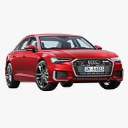 2019 Audi A6 3d model