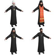 Priests Orthodox 3d model