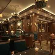 Coffee Bar Restaurant 3d model
