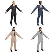 Biznesmen NOWY WIEK 3d model