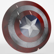 Captain America Shield 3d model