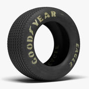 Goodyear Billboard Tire 3d model