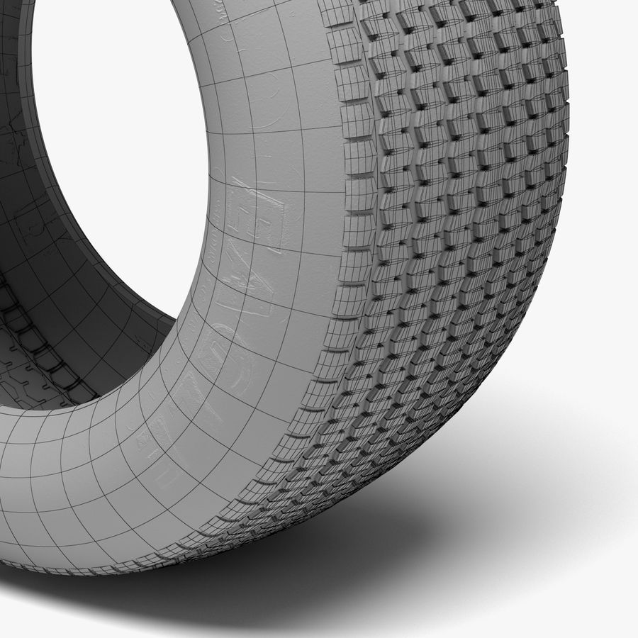 Goodyear Billboard Tire royalty-free 3d model - Preview no. 6