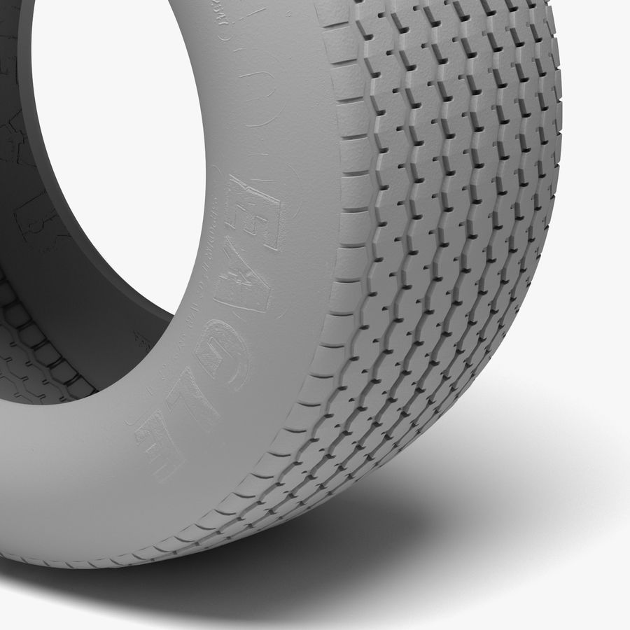 Goodyear Billboard Tire royalty-free 3d model - Preview no. 5