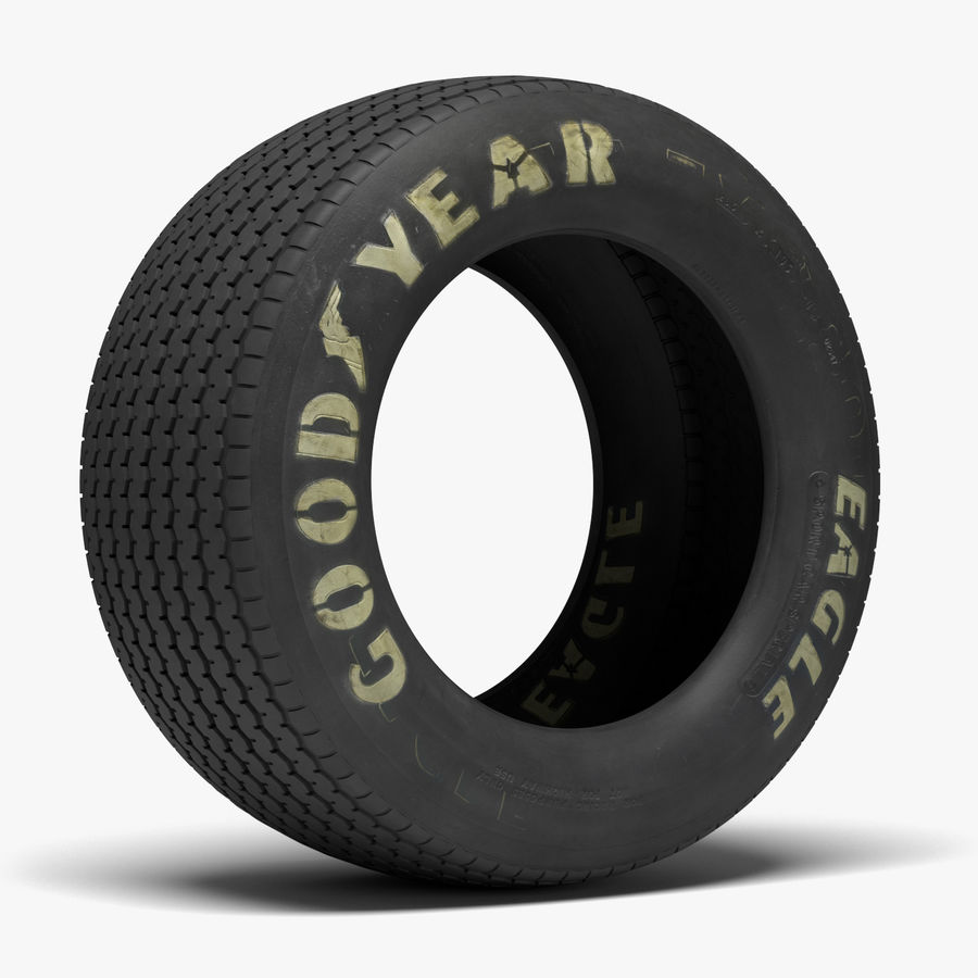Goodyear Billboard Tire royalty-free 3d model - Preview no. 1