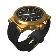 Michael kors watch- folded 3d model 3d model