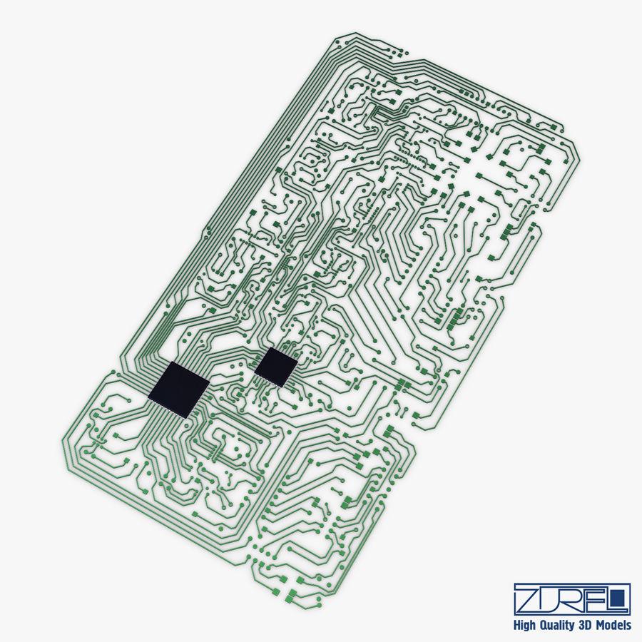 Elektronische Schaltung v 2 royalty-free 3d model - Preview no. 3