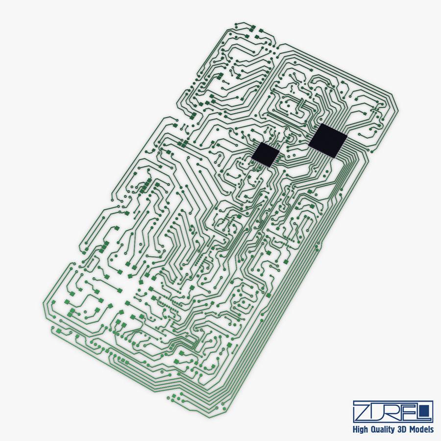 Elektronische Schaltung v 2 royalty-free 3d model - Preview no. 1