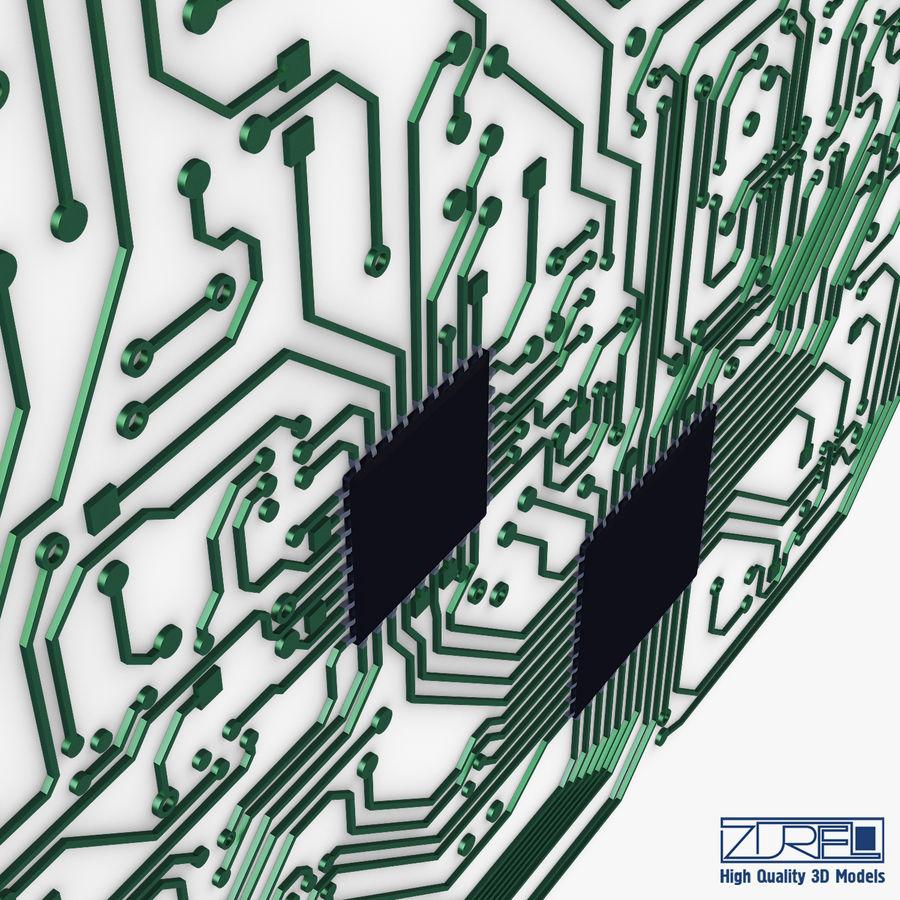 Elektronische Schaltung v 2 royalty-free 3d model - Preview no. 14