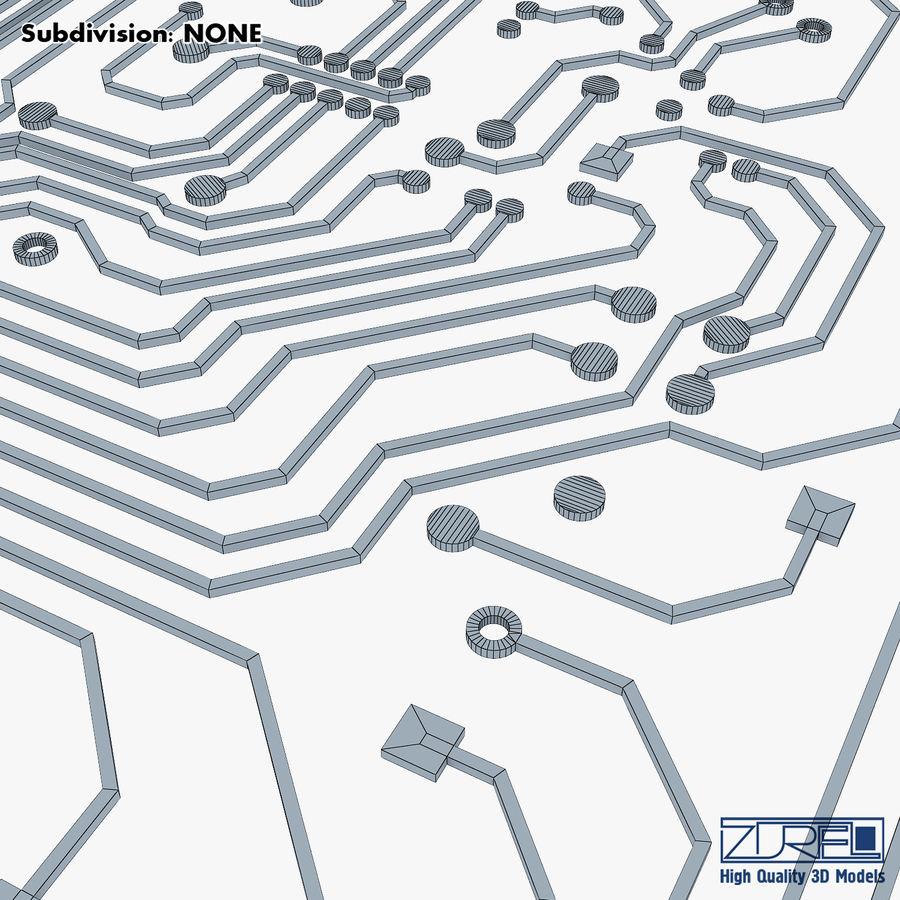 Elektronische Schaltung v 2 royalty-free 3d model - Preview no. 27
