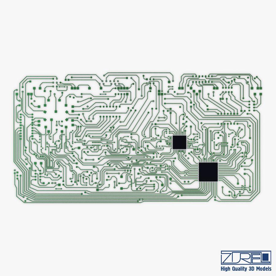 Elektronische Schaltung v 2 royalty-free 3d model - Preview no. 5