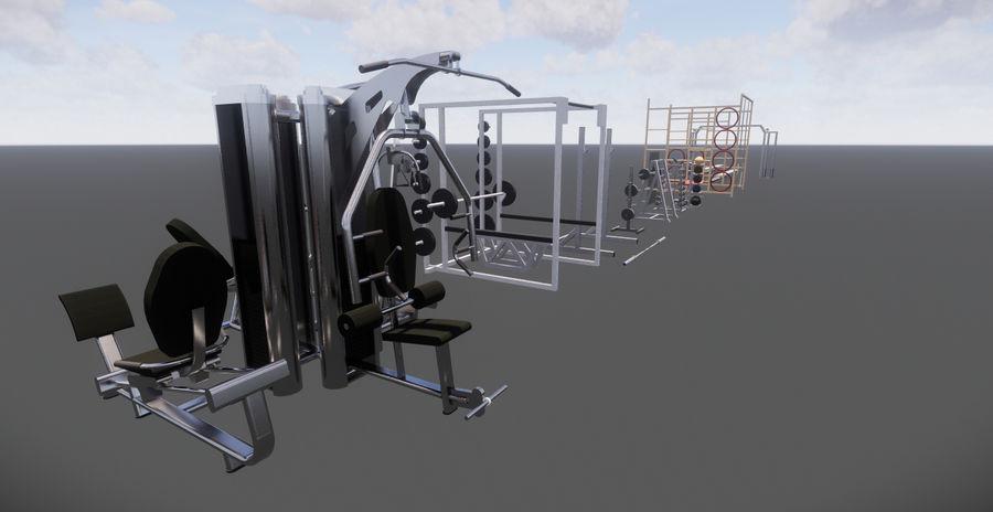 34 (Gym models) Revit 2015 3D Model $35 -  rfa  rvt - Free3D