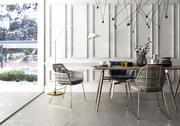 Modern home table chair 3d model