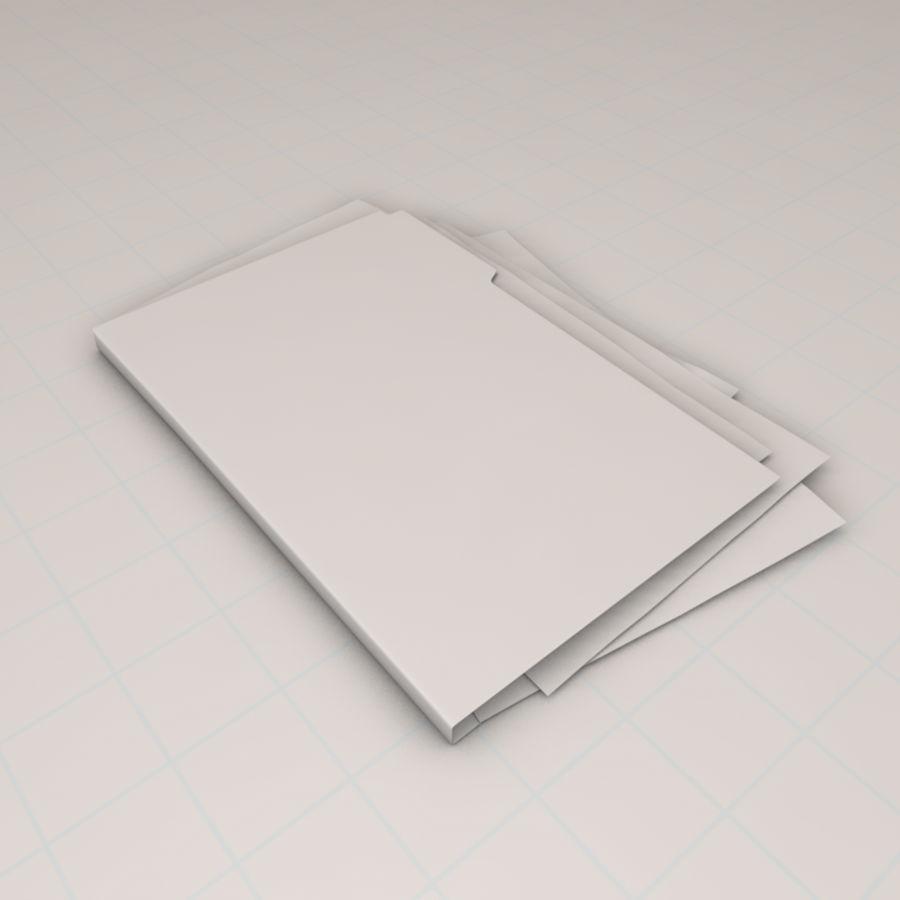 File Folder royalty-free 3d model - Preview no. 5