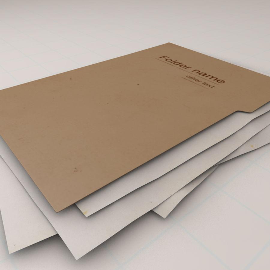 File Folder royalty-free 3d model - Preview no. 4