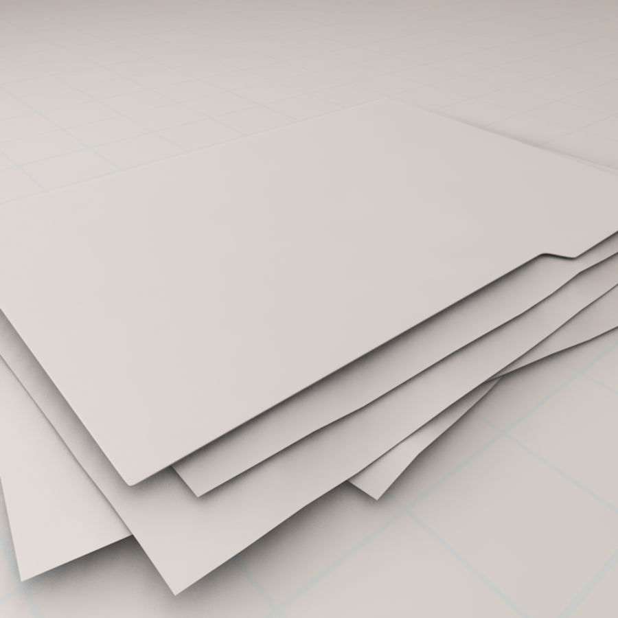 File Folder royalty-free 3d model - Preview no. 7