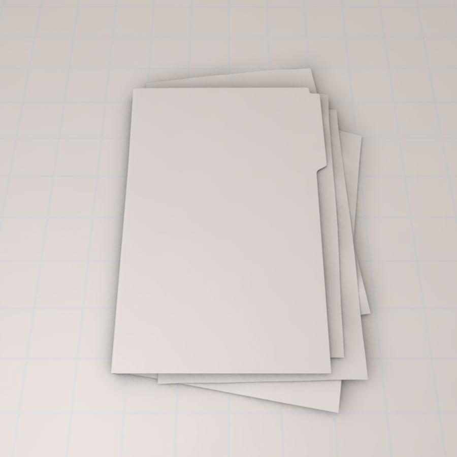 File Folder royalty-free 3d model - Preview no. 6