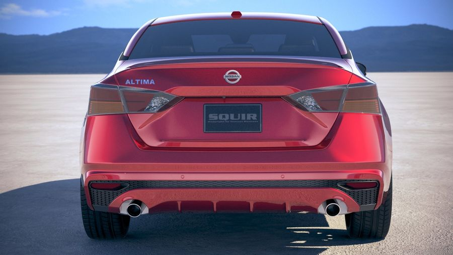 Nissan Altima 2019 royalty-free 3d model - Preview no. 11