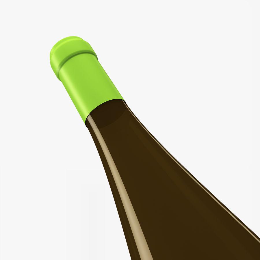 와인 병 royalty-free 3d model - Preview no. 2