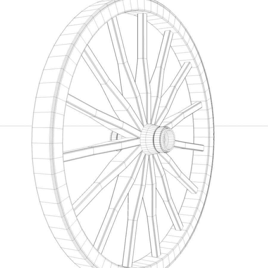 수레 바퀴 royalty-free 3d model - Preview no. 5