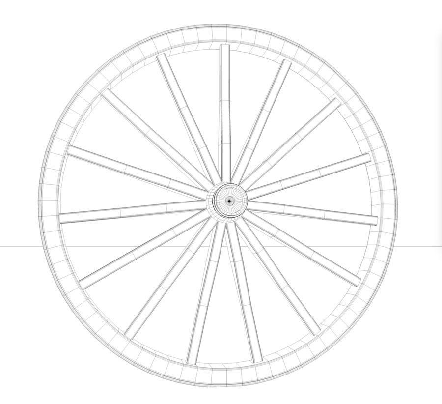 수레 바퀴 royalty-free 3d model - Preview no. 2