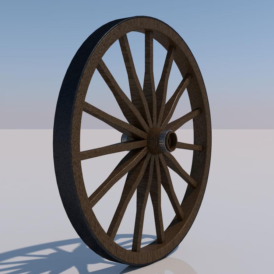 수레 바퀴 royalty-free 3d model - Preview no. 1