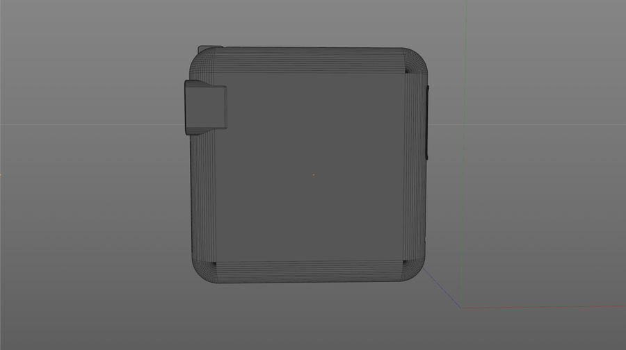 USB 3 Charger royalty-free 3d model - Preview no. 5