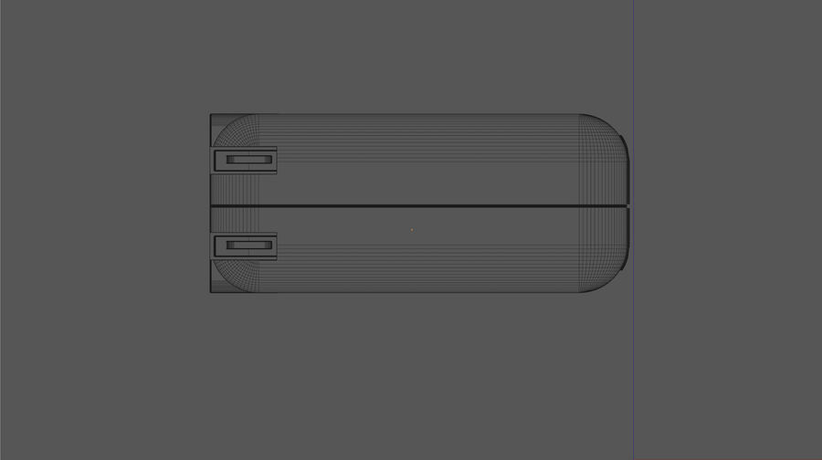 USB 3 Charger royalty-free 3d model - Preview no. 8