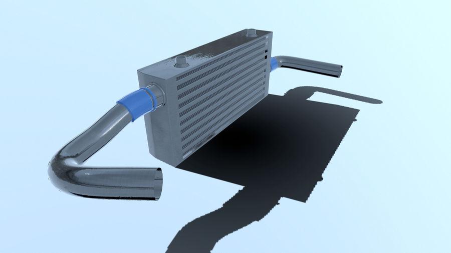 中冷器 royalty-free 3d model - Preview no. 10